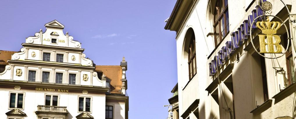 Am Platzl mit Hofbräuhaus